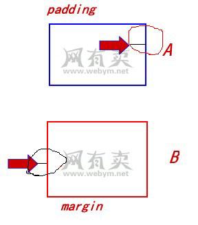 margin和padding的区别