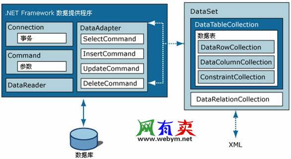 ADO.NET结构图