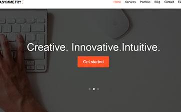 电子设备网站模板