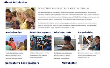 儿童计算机教育html5模板