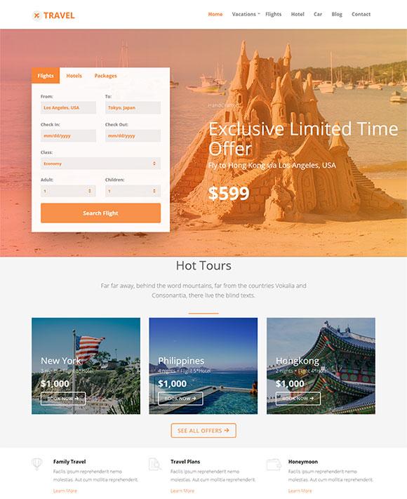 旅游集团公司网站模板
