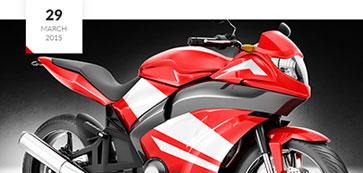 摩托车行网站模板