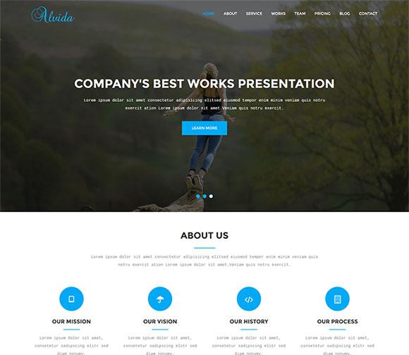 林木公司网站模板