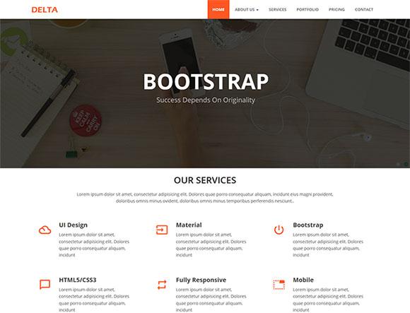 创业公司网站模板