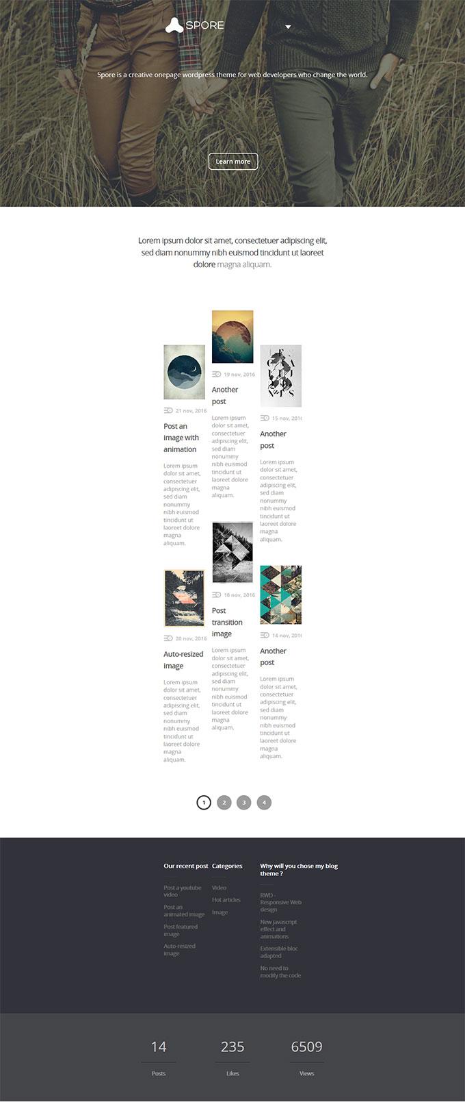 响应式公司官网网站模板