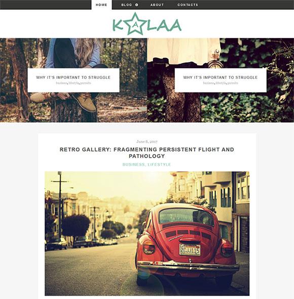 摄影创作网站模板