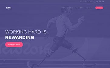 体育运动APP官网模板