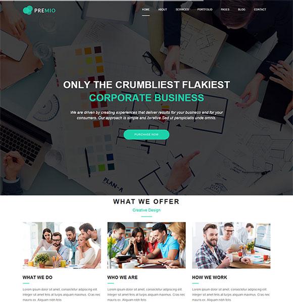 原创设计网站模板