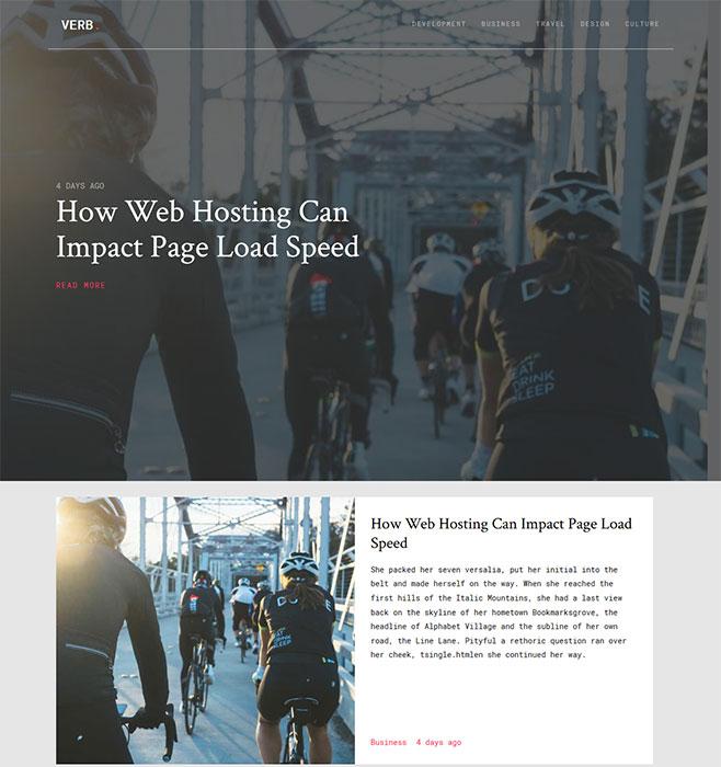 自行车公路赛网站模板
